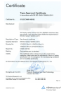 CE certificate for CO2 canister 1